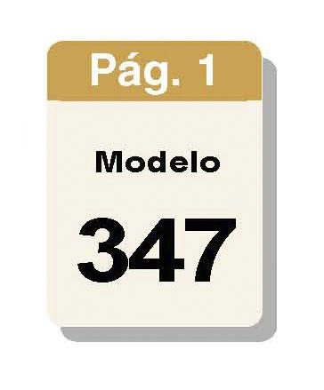 Modelo 347. Declaración Anual De Operaciones Con Terceras Personas