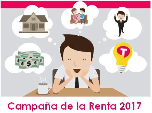 Arranca La Campaña De La Renta 2017